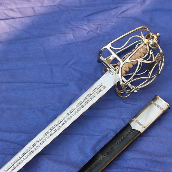 Windlass Steelcrafts Skotsk sværd Royal arsenaler
