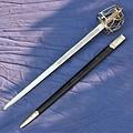Windlass Steelcrafts espada escocesa de la Armería Real
