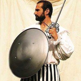 Windlass Stål runde shield 59 cm