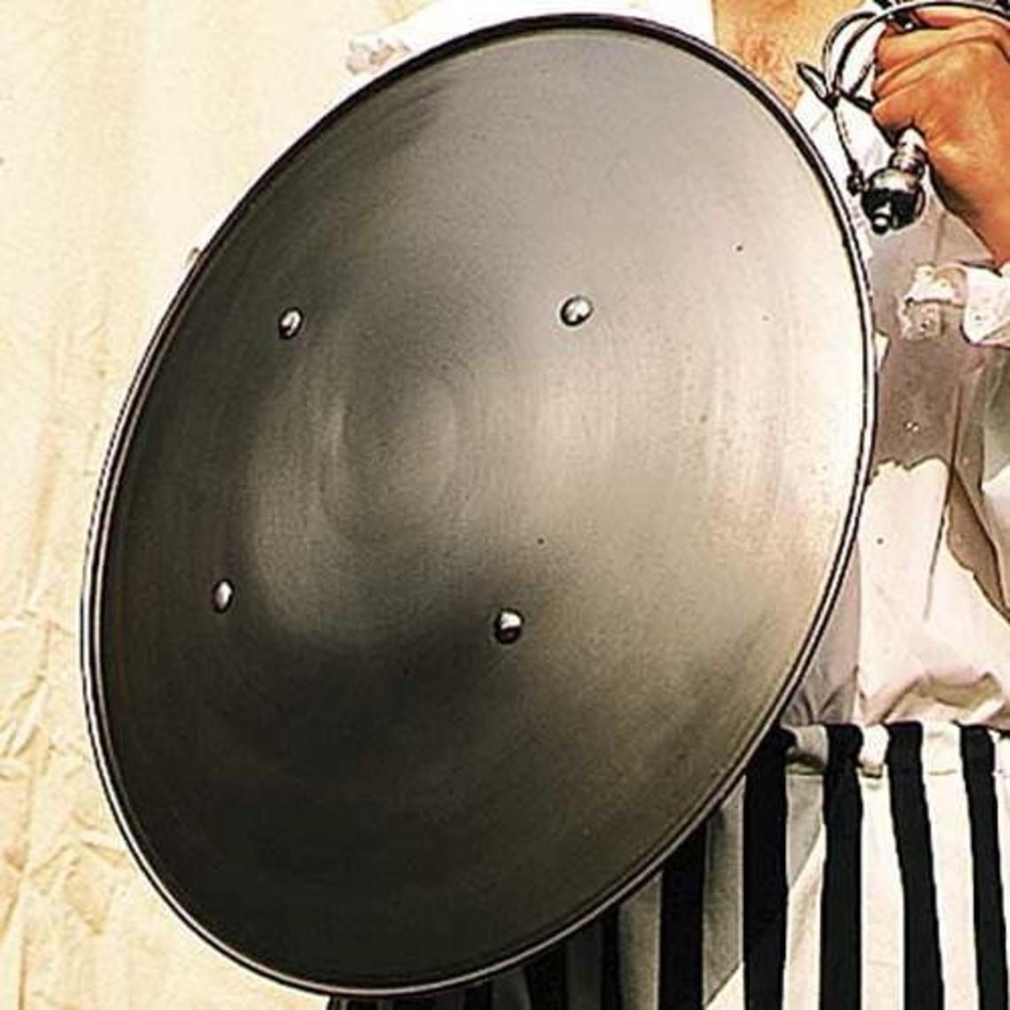 Windlass Steelcrafts Masque rondes en acier 59 cm