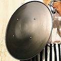 Windlass Steelcrafts ze stali okrągłej tarczy 59 cm