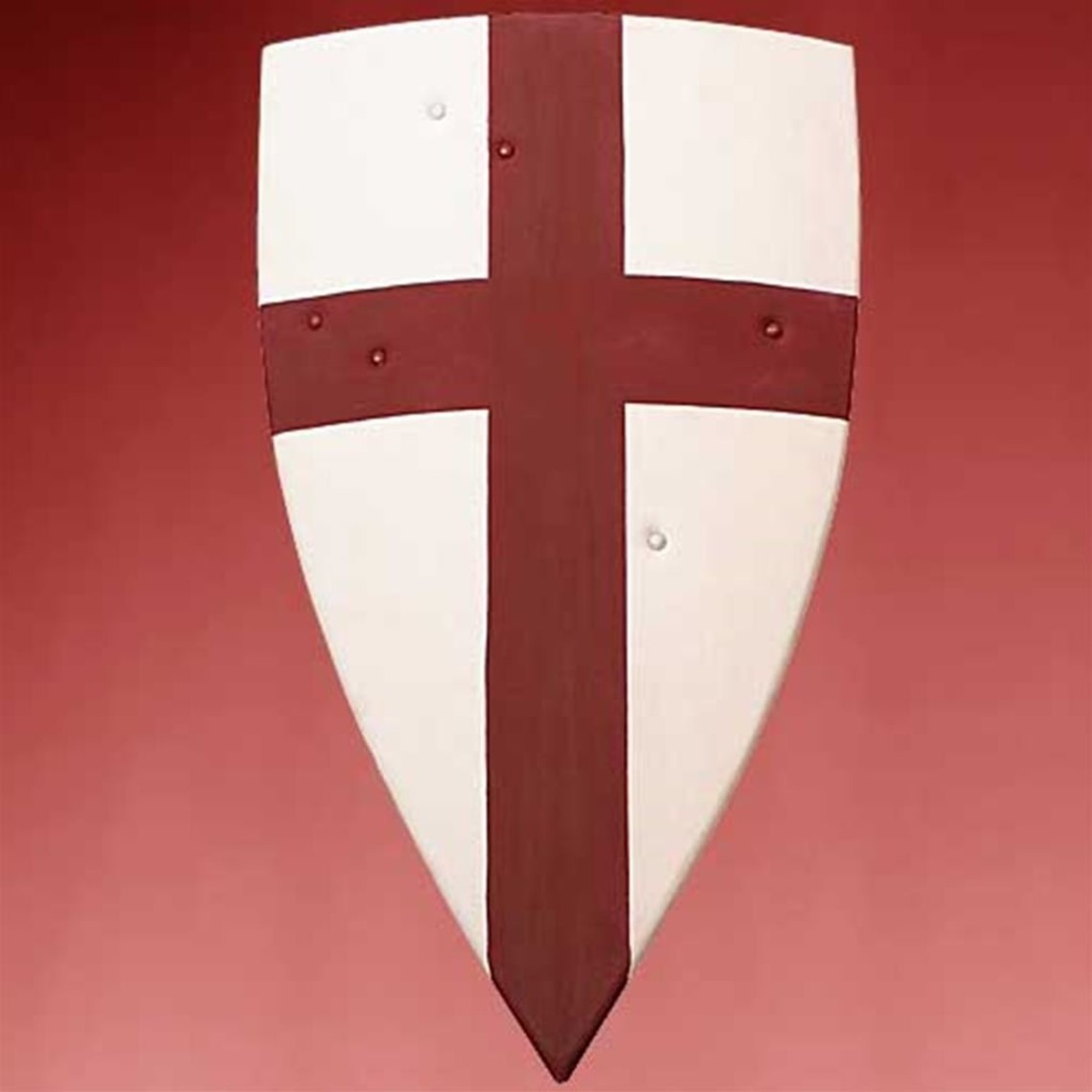 Windlass Steelcrafts scudo di legno Templar
