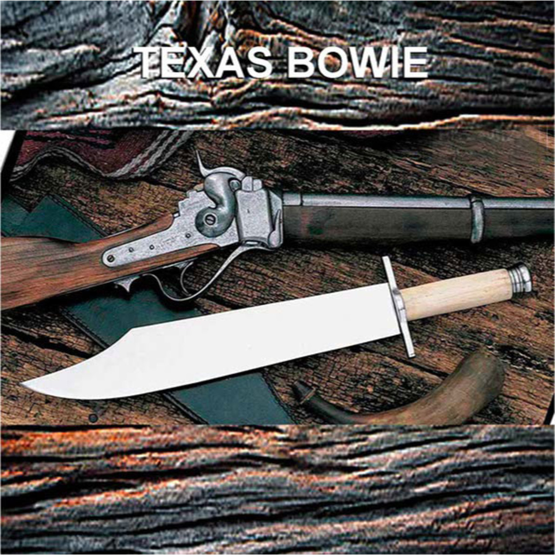 Windlass Steelcrafts Bowie-Messer Texas