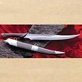 Windlass Steelcrafts Cuchillo de fantasía cuchillo de combate garra cuervo