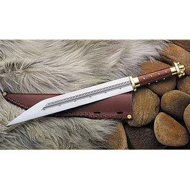 Windlass Merovingische sax British Museum