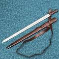 Windlass Steelcrafts Vikingo espada Bjorn con la funda de lujo