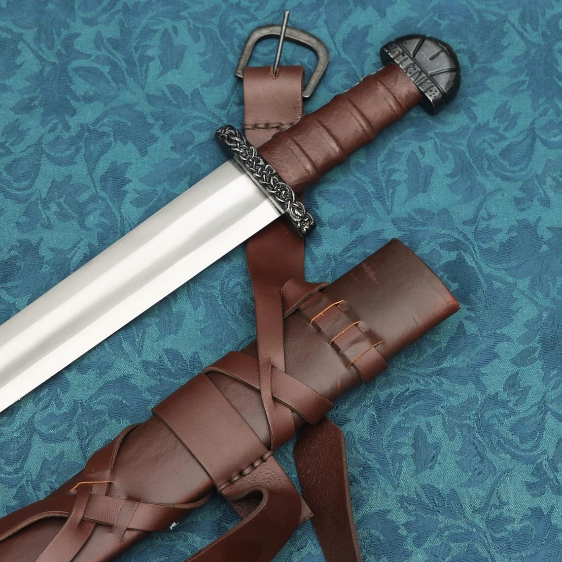 Windlass Steelcrafts Viking svärd Björn med deluxe skidan
