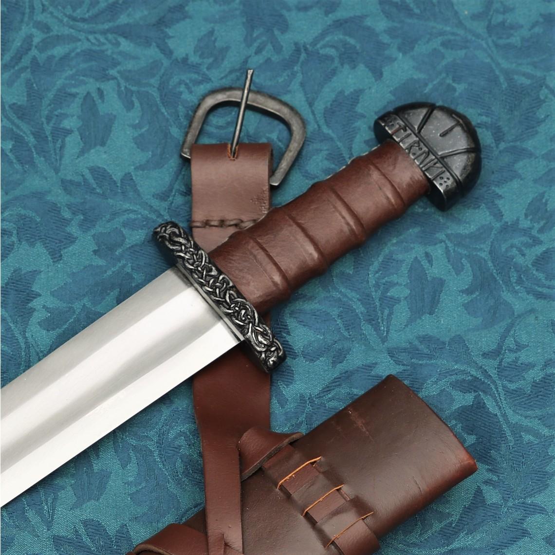 Windlass Steelcrafts Wikingerschwert Bjorn mit Deluxe-Scheide