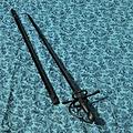 Windlass Steelcrafts Czarny pirat Jack rapier