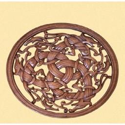 Borre Stil Viking Holzschnitzwerk