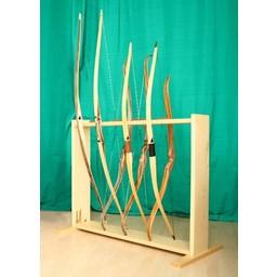 Bogen aus Holzständer für 8 Bögen