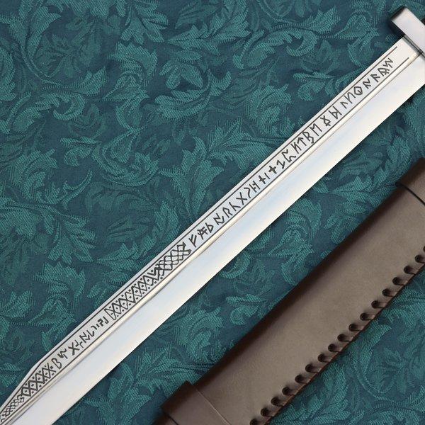 Windlass Steelcrafts Viking seax med runer British Museum