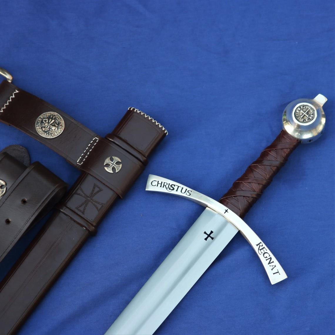 Windlass Steelcrafts Middeleeuws tempeliers zwaard Bohemond II