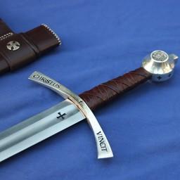 Średniowieczny miecz templariuszy Boemund II