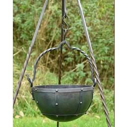 Stor tidig medeltid kittel 9 liter