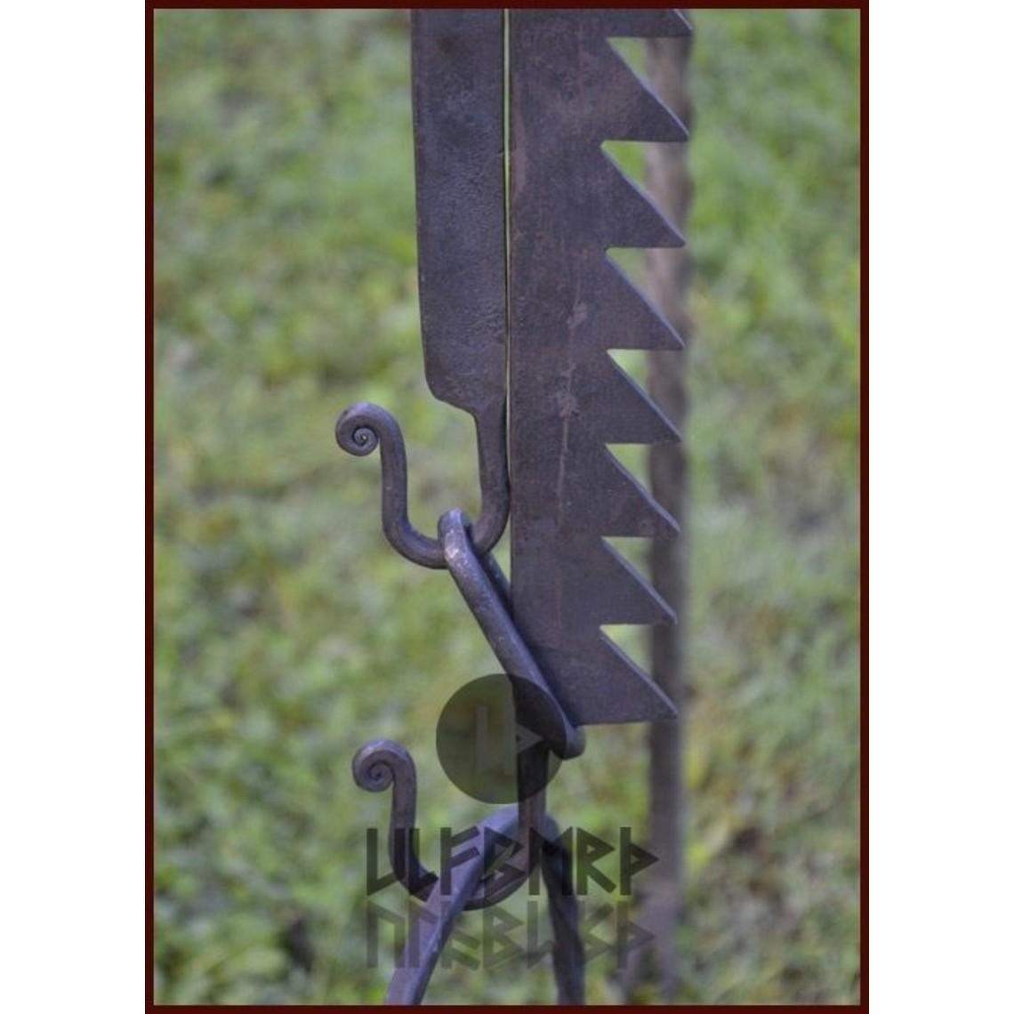 Ulfberth Medievales ajustable S-gancho 90 cm