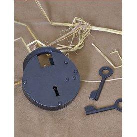 Deepeeka Round padlock