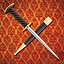 Medieval roundel dagger Auray