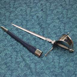 Musketeer huvud gauche