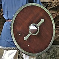 Windlass Steelcrafts Legno vichingo scudo Hvitsärk