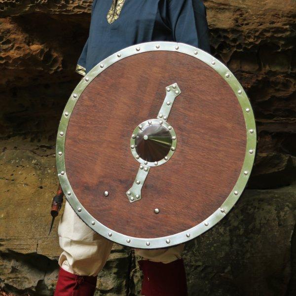 Windlass Houten Viking schild Hvitserk