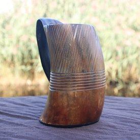 Epic Armoury Tasse en corne Viking Hofstadir, 0,6L