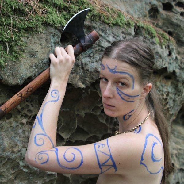 Epic Armoury Epic Effect LARP Make-Up - Royal Blue, na bazie wody