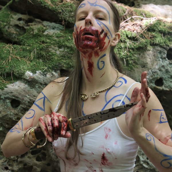 Epic Armoury Epic Effect LARP Make-Up - Royal Blue, vattenbaserade