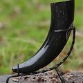 Epic Armoury Support corne à boire forgés à la main, 0,3-0,5 litres cornes