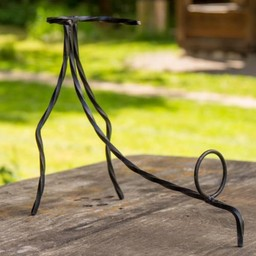 Drinking horn stand hand-forged XL