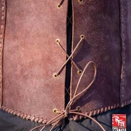 Brigandine med bälten, brun