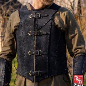 Epic Armoury Brigandine mit Gürteln, schwarz