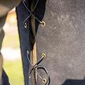 Epic Armoury Brigandine con cinturones, negro