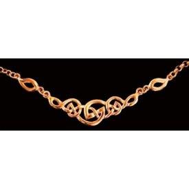Celtic knot halsband