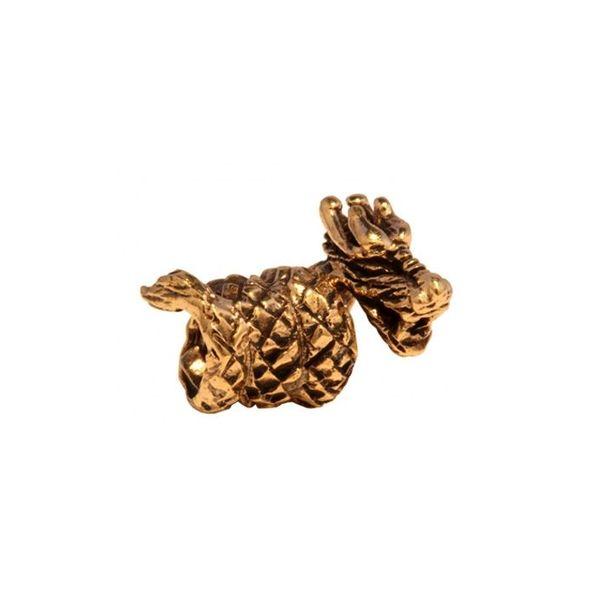 Dragon de bronze beardbead