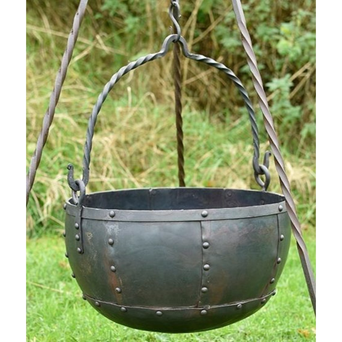 Early medieval cauldron large