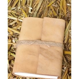 bolso pequeno com tampa de couro