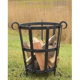 Forjado cesta de fogo, aprox. 45 cm de altura