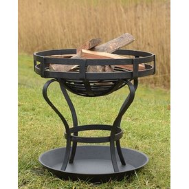Deepeeka Fire pit with ground sheet, approx. 41 cm