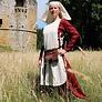 medeltida klänning
