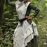 vestido feria medieval