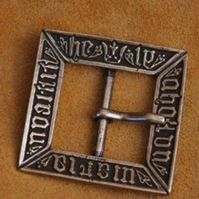 Hebillas y herrajes para cinturones Edad Media, Renacimiento, piratas