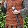läder harnesk brigandin