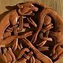 sculpture bois viking