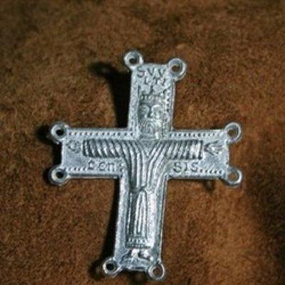 Insignias de peregrino y religión
