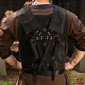 Epic Armoury Armadura de cuero de combate RFB, negro