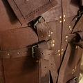 Epic Armoury RFB combatiente, armadura de cuero, marrón