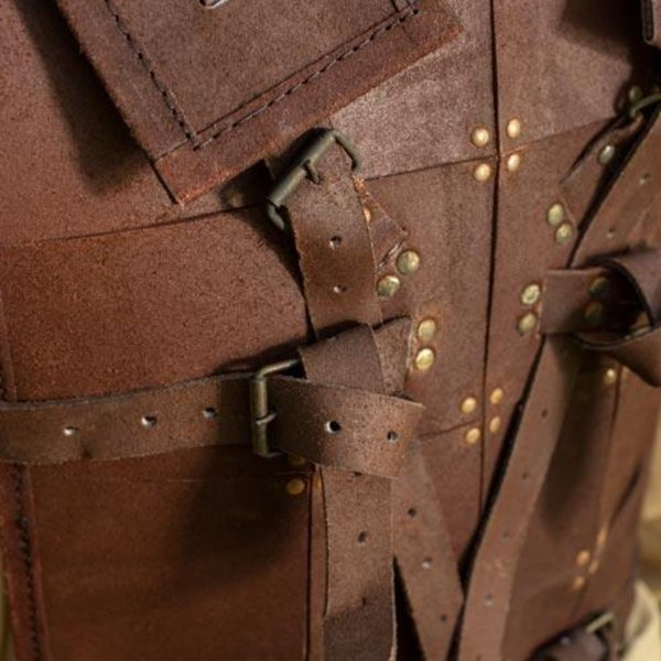 Epic Armoury RFB Fighter Læder Armour, brun