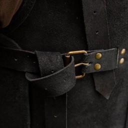 RFB Skórzana zbroja Wikingów, czarna