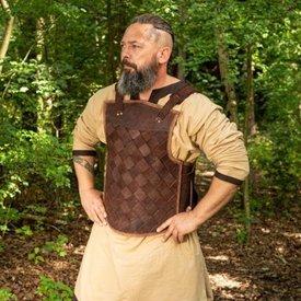 Epic Armoury RFB Armadura vikinga de cuero, marrón